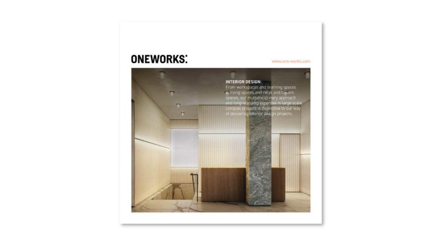 One Works on Interior Design