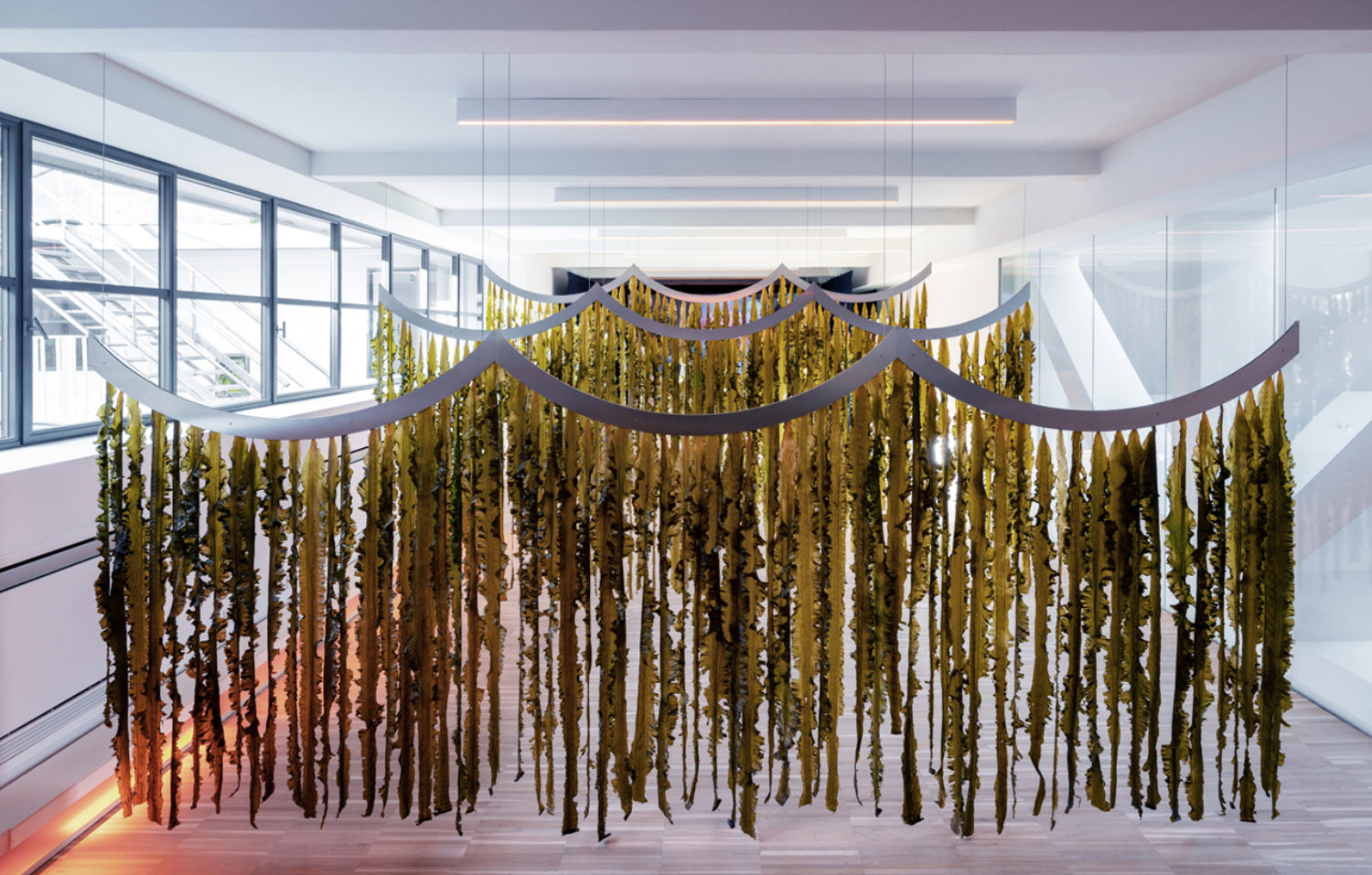(f)ACTS ON CLIMATE CHANGE - WAVES installation, Milan Design Week 2019