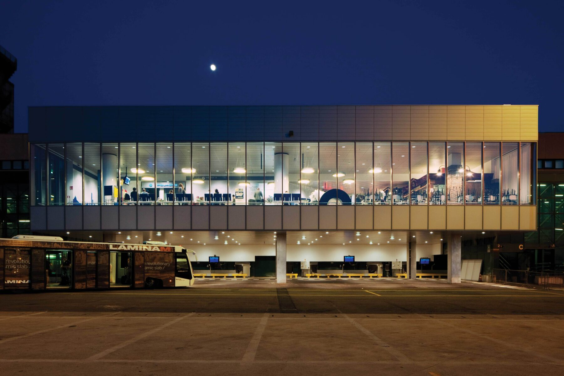 Bologna Airport Restyling Concluded