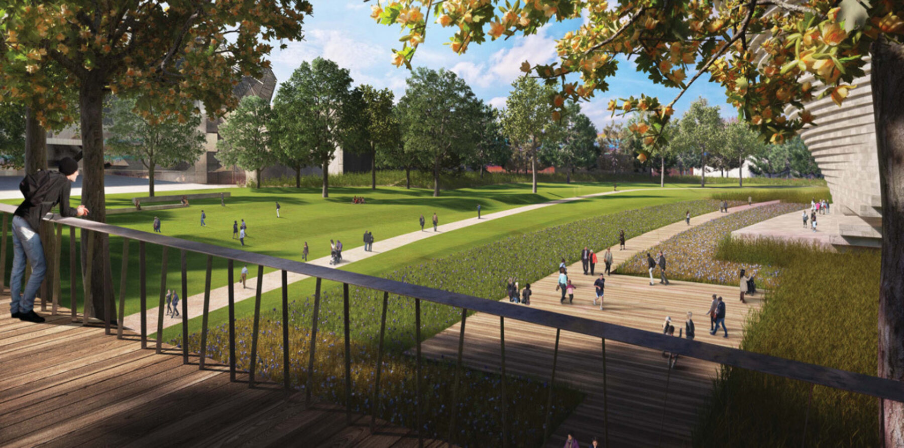 Citylife New Park 1st Opening