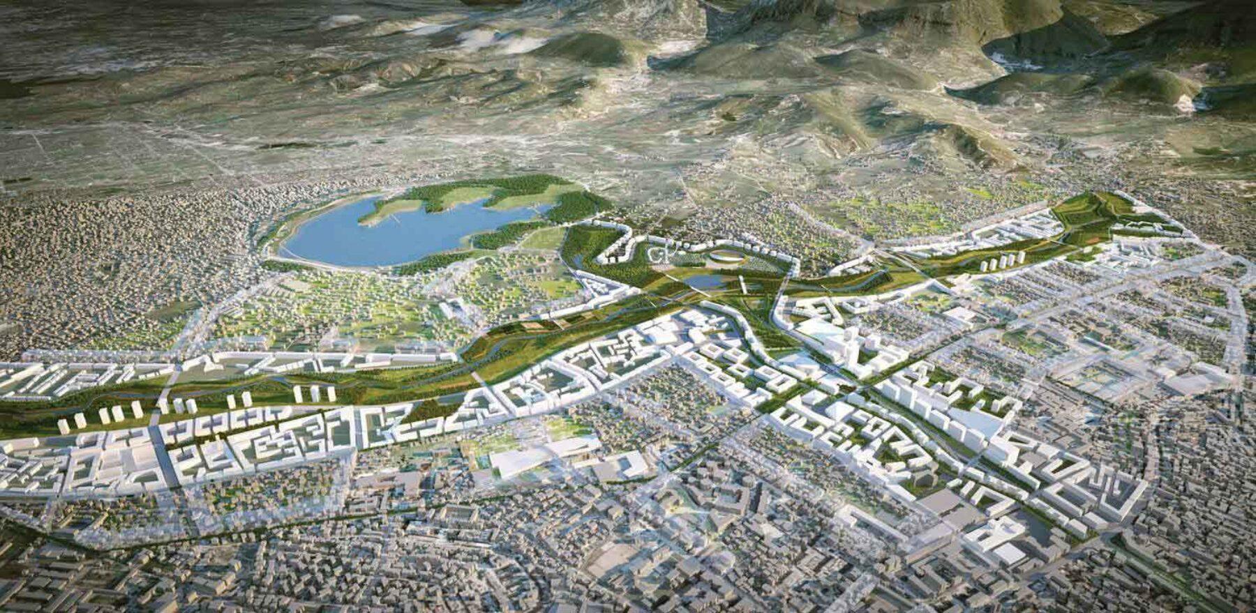 Tirana Masterplan Presented at the Polytechnic of Milan