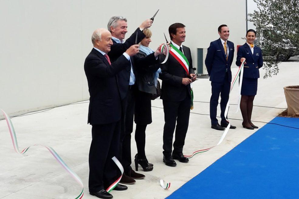 Inaugurated the New Ryanair Tech Hangar at Bergamo Airport