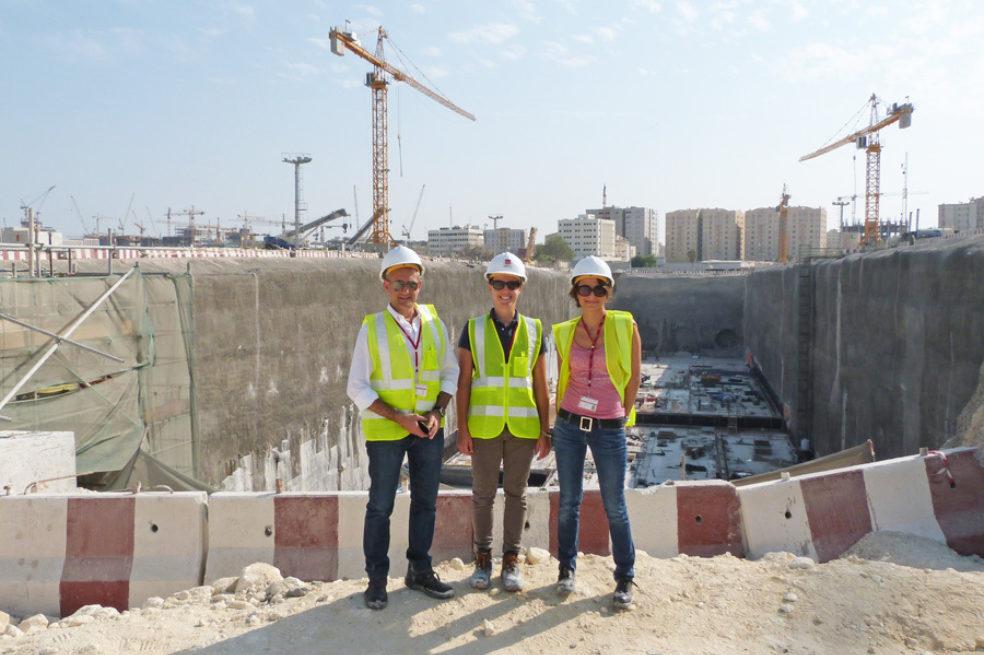 Simona Cornegliani, Chief Architect Doha Metro Red Line North, interviewed by Modulo