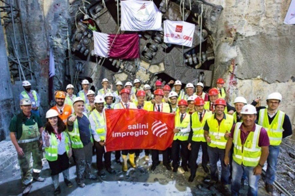 Last Breakthrough on Doha's Metro North Red Line