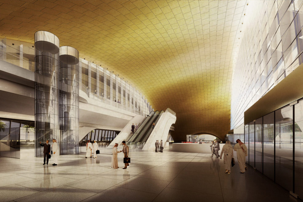 The Riyadh Metro development is progressing well