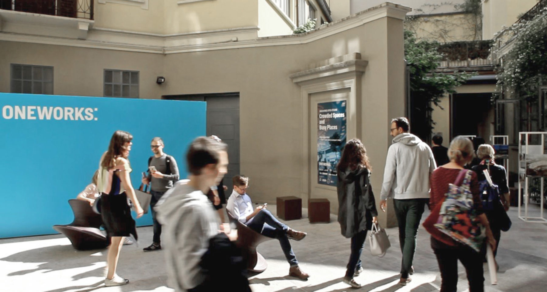 Milan Design Week: Thanks for visiting our Crowded Spaces and Busy Places exhibition