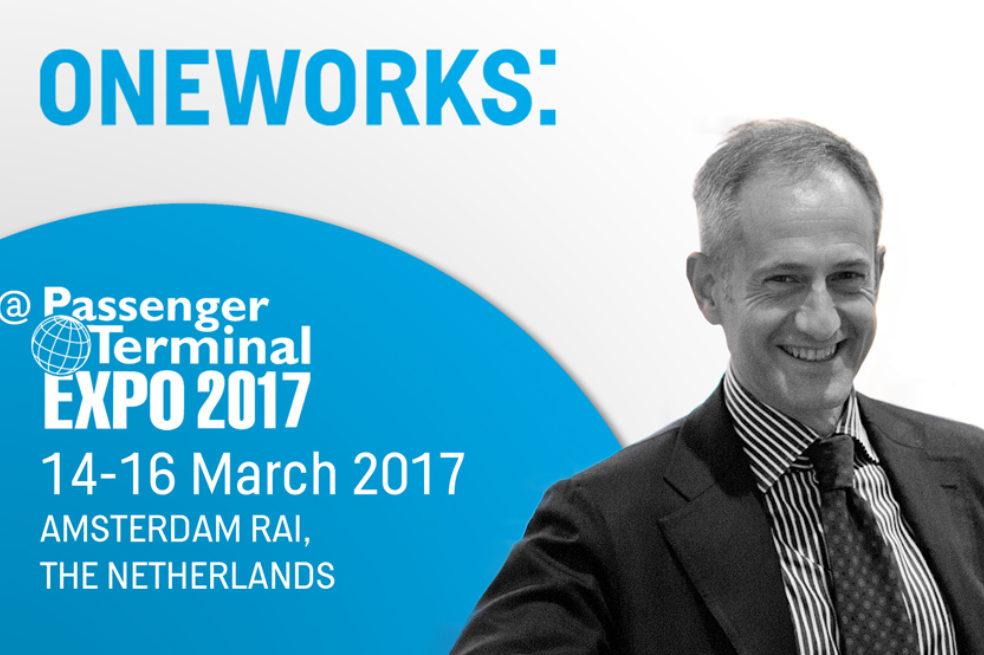 Giulio De Carli will be at the Passenger Terminal EXPO 2017