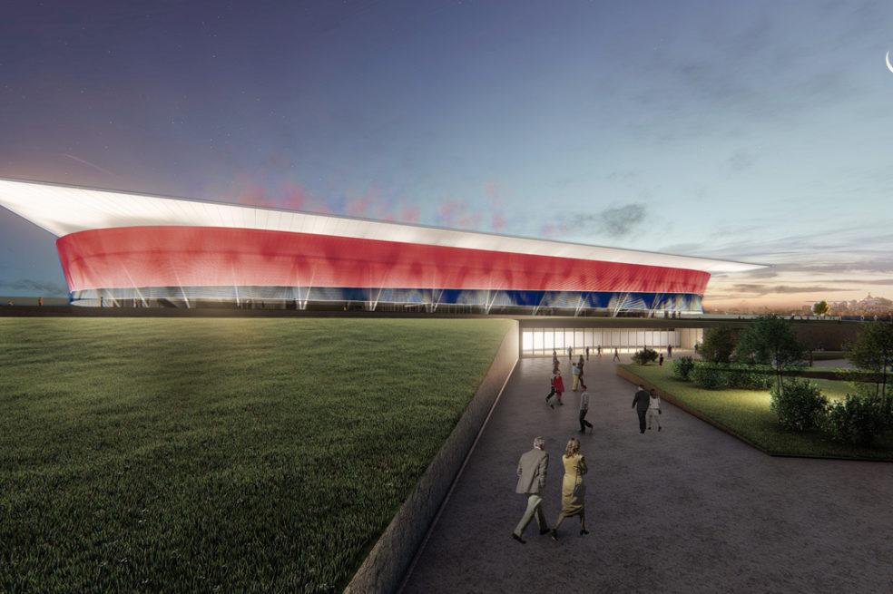 Design proposals released for Cagliari Football Club's new home