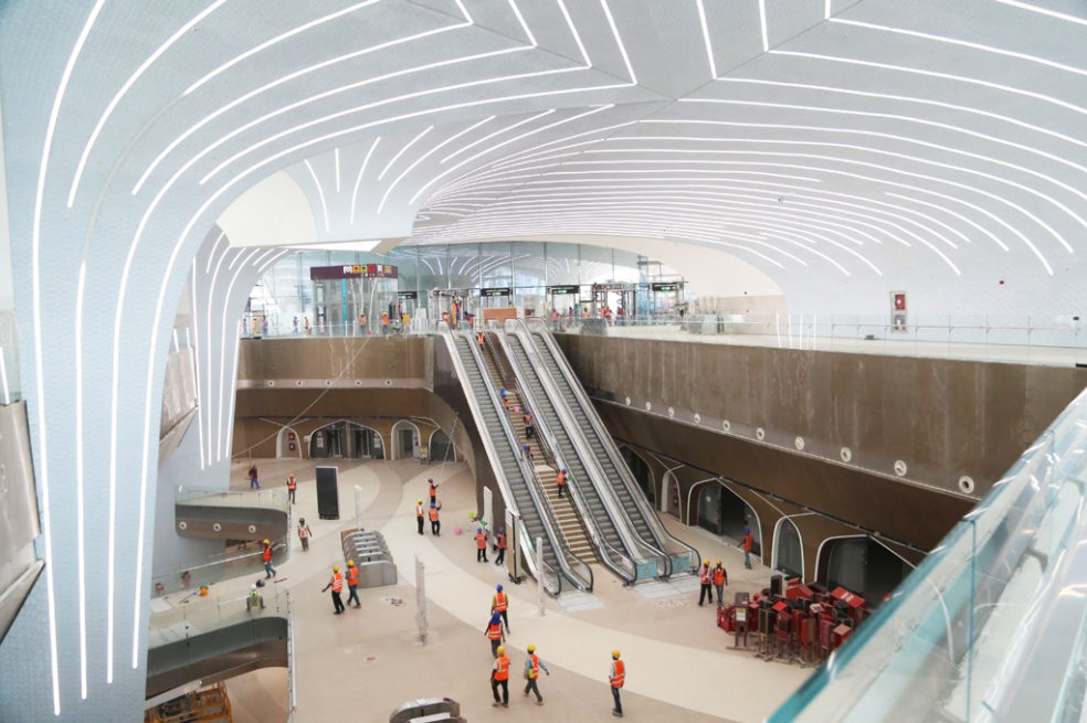 First look at Doha Metro's Msheireb and Al Qassar Stations