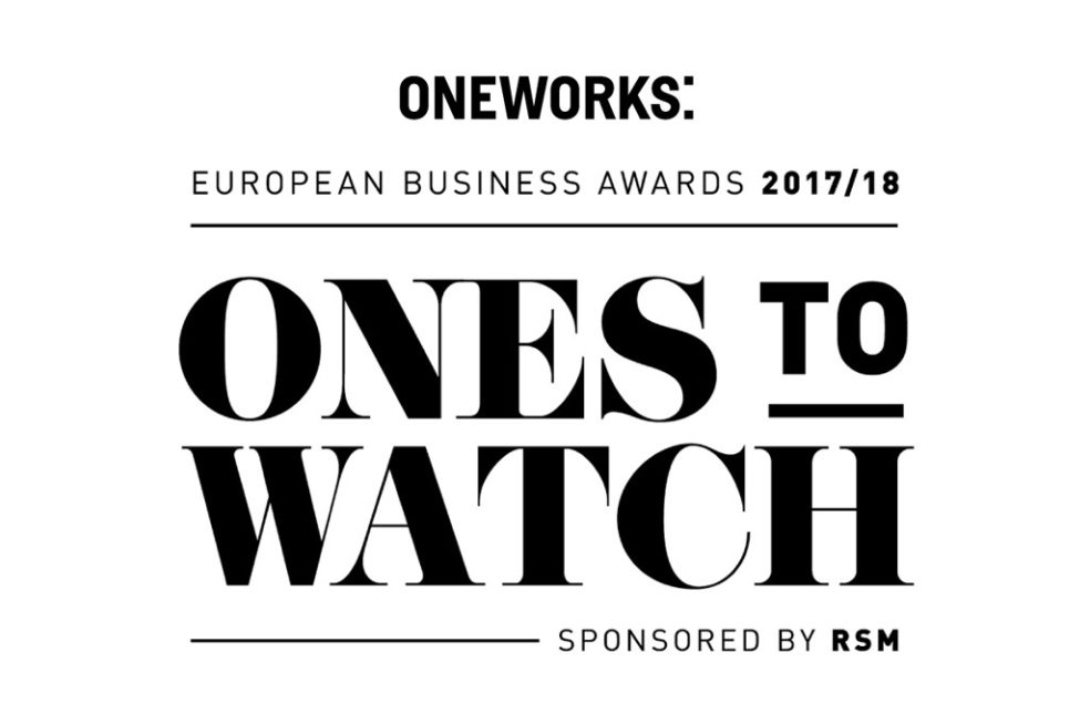 One Works named one of the 'Ones to Watch' in European Business Awards