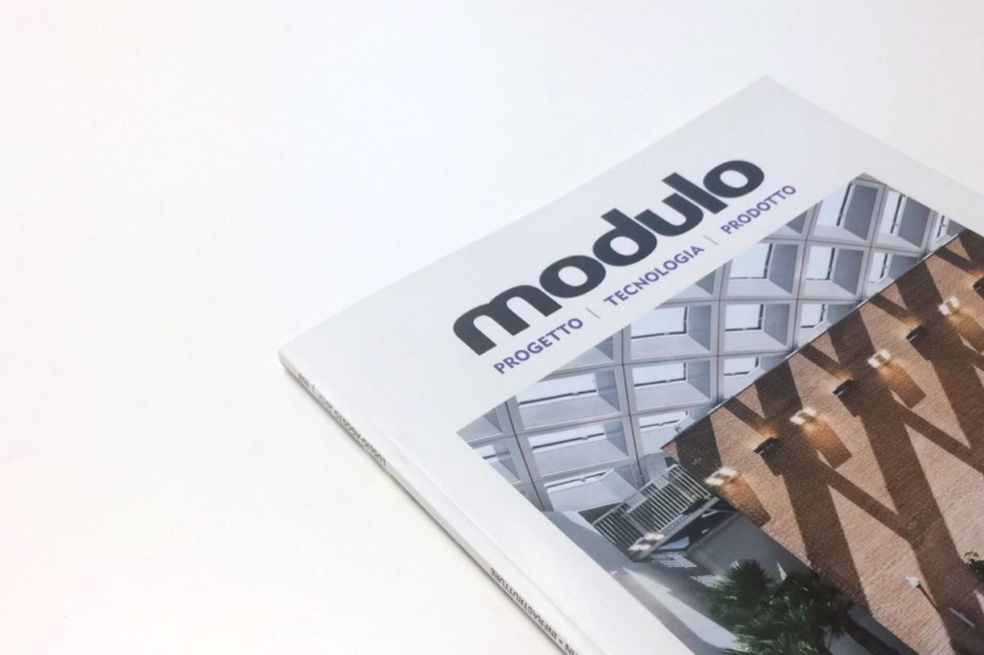 One Works makes the cover of Italian magazine, Modulo