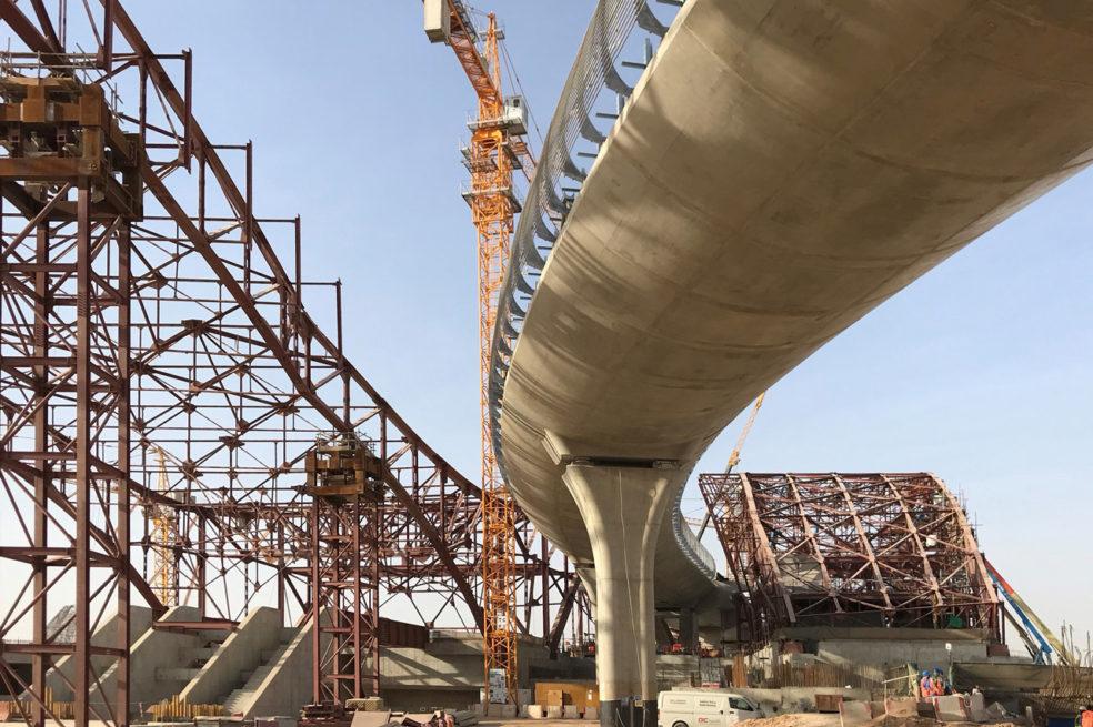 Riyadh Metro's Western Station construction is progressing well
