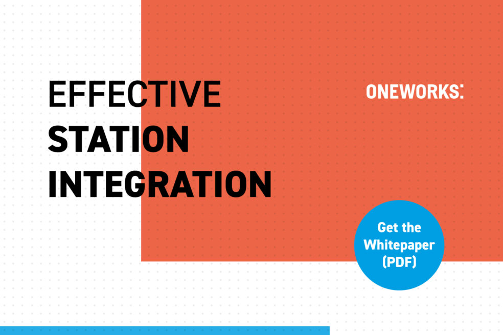 """""""Effective Station Integration"""" whitepaper now available"""