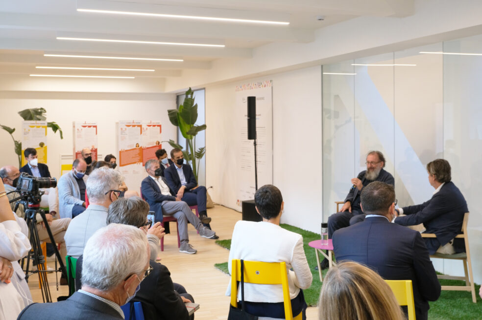 TALKING SUSTAINABILITY AT the 2021 FUORISALONE