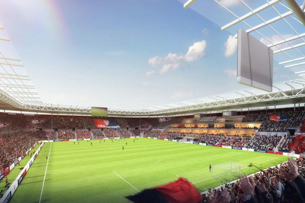 Sant'Elia Cagliari Calcio Design Proposal