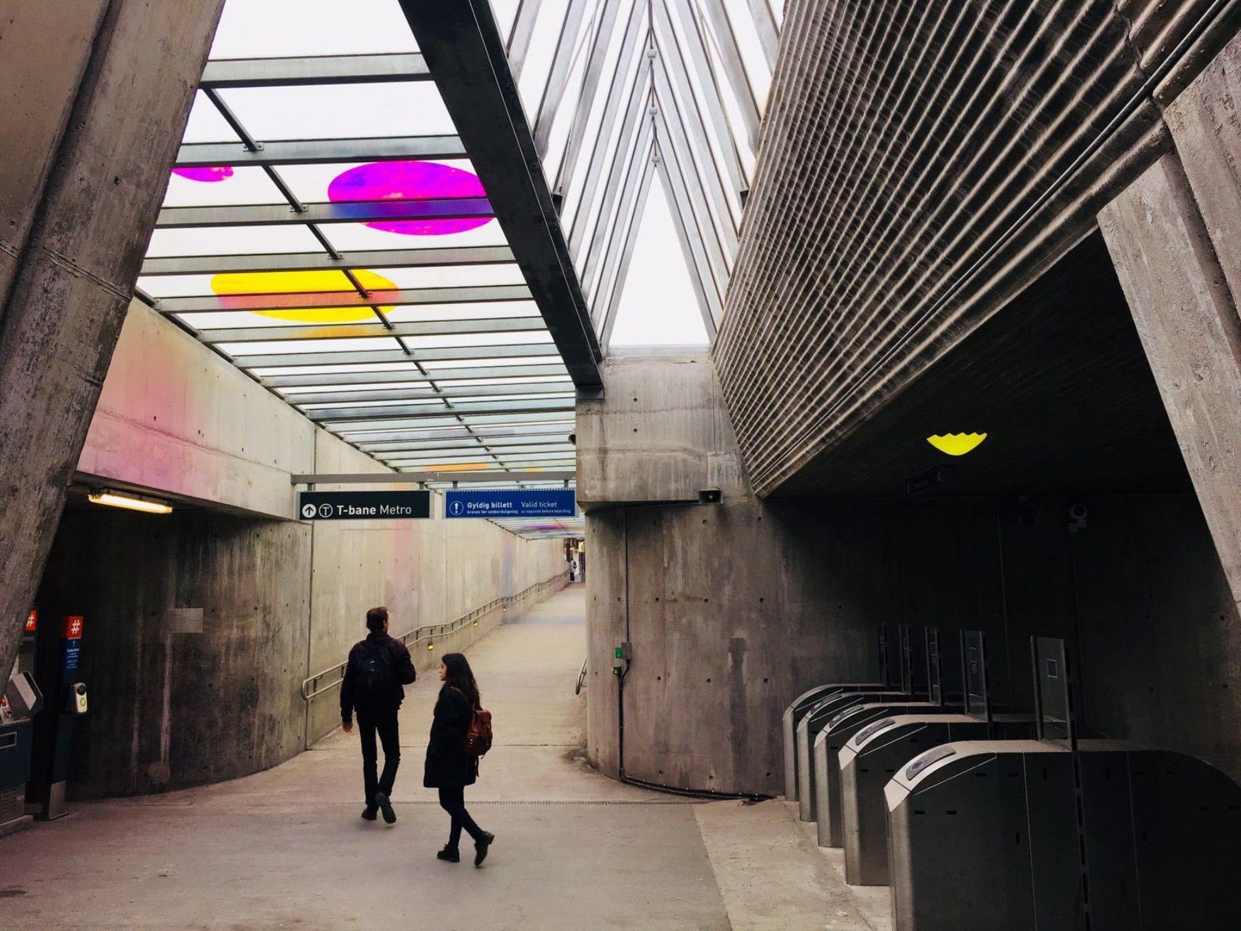 One Works Shortlisted for New Fornebu Line Station