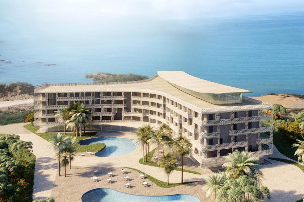 Seaside Hotel in Algeria