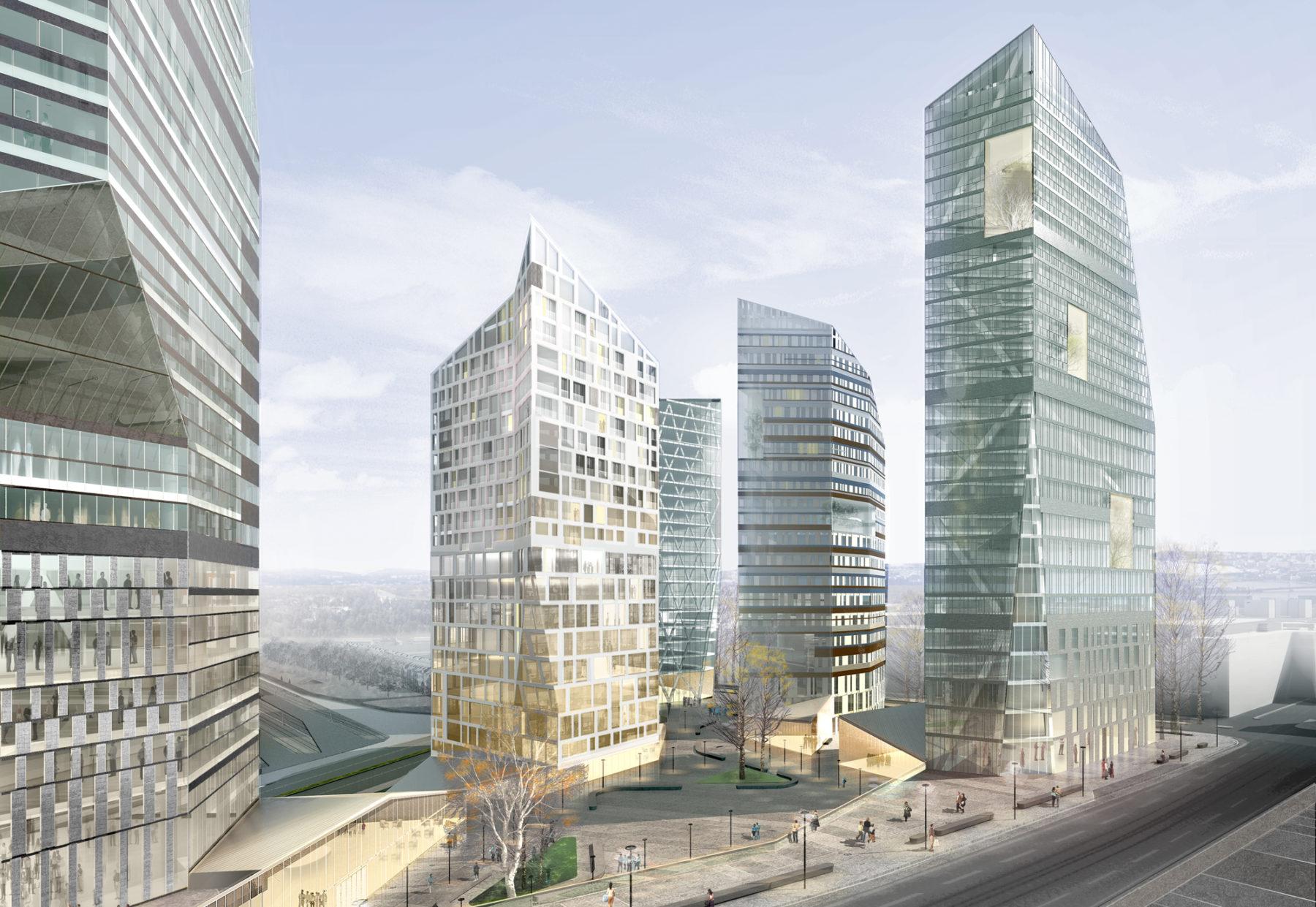 Helsinki Central Pasila Masterplan