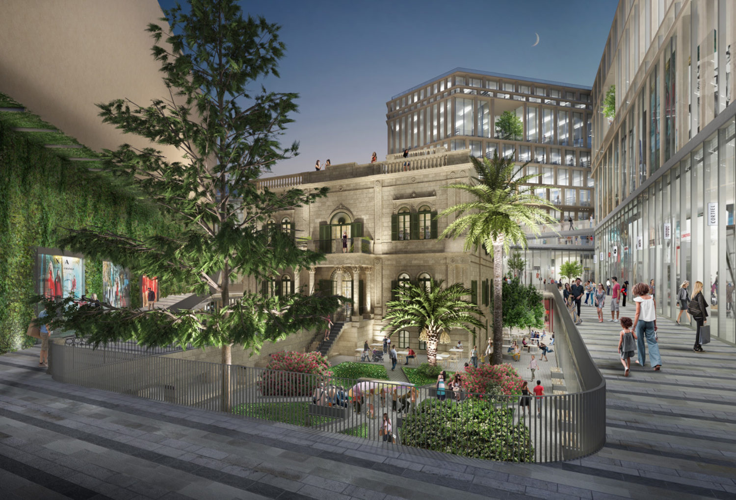 Townsquare Mixed-use District
