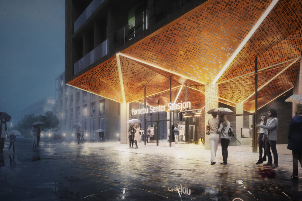 Oslo Fornebu Centre Station