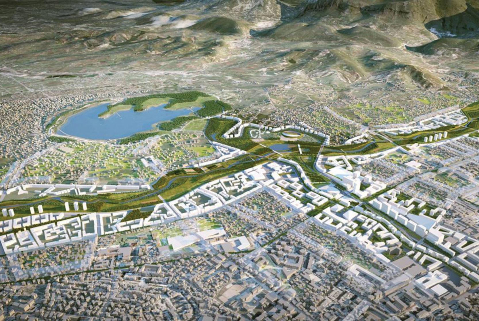 Tirana Northern Boulevard & River Project Masterplan