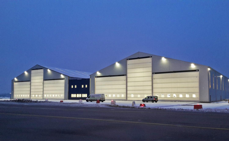 Wroclaw-Copernicus Airport (WRO) Hangar
