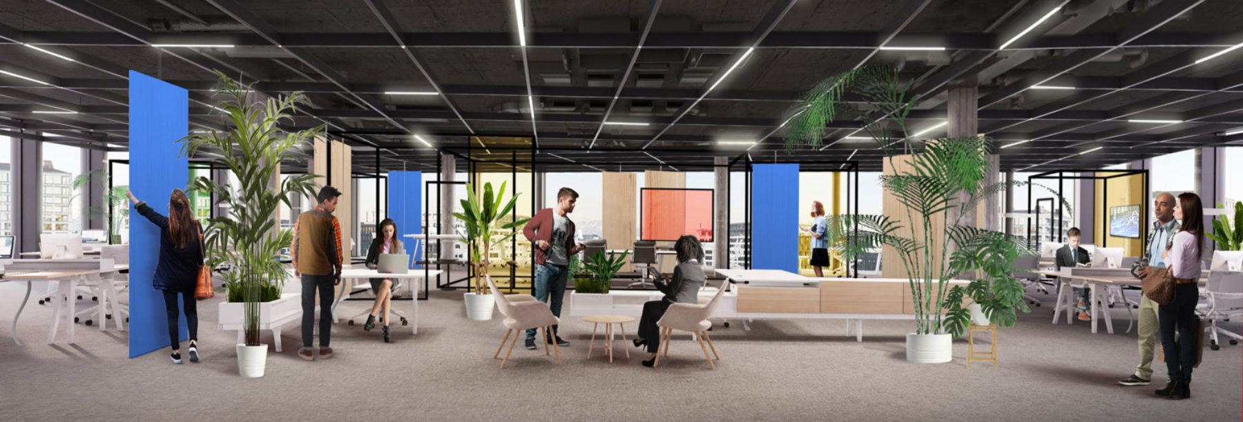 Media Tech Company Office Design