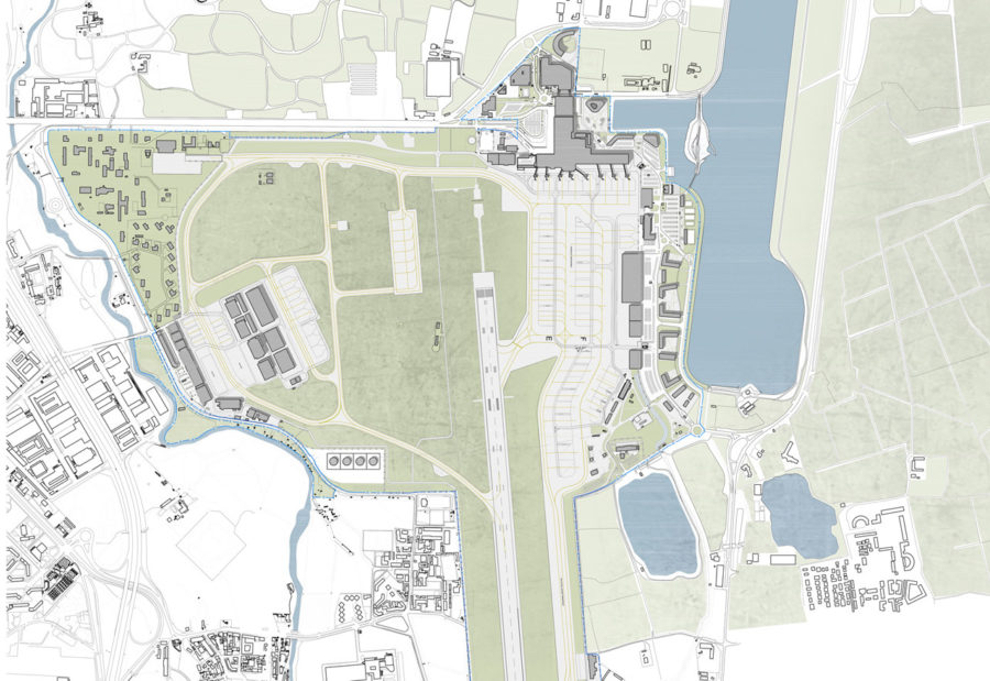 Milano Linate Airport City (LIN): Masterplan and New Metro Station Connection