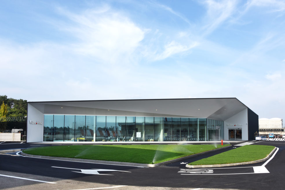 One Works completes the new VIP Terminal for Sea Prime in Malpensa