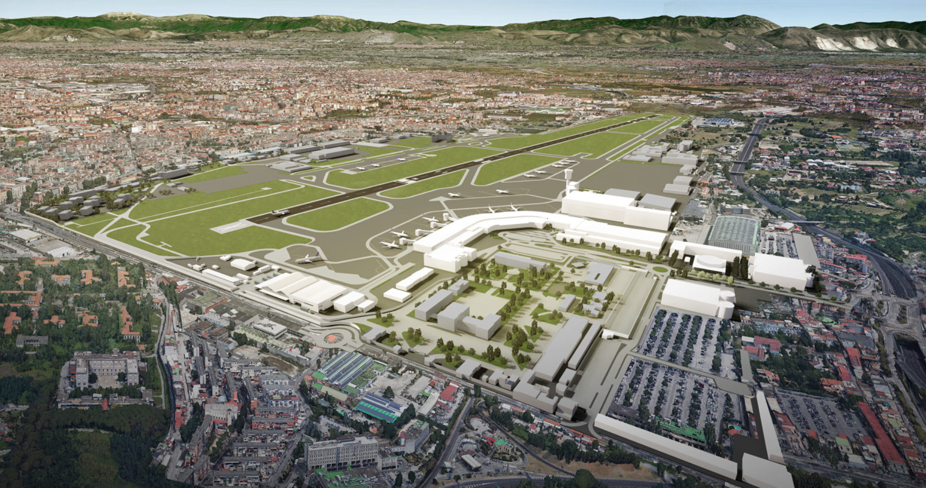 Naples International Airport (NAP) 2023 Masterplan