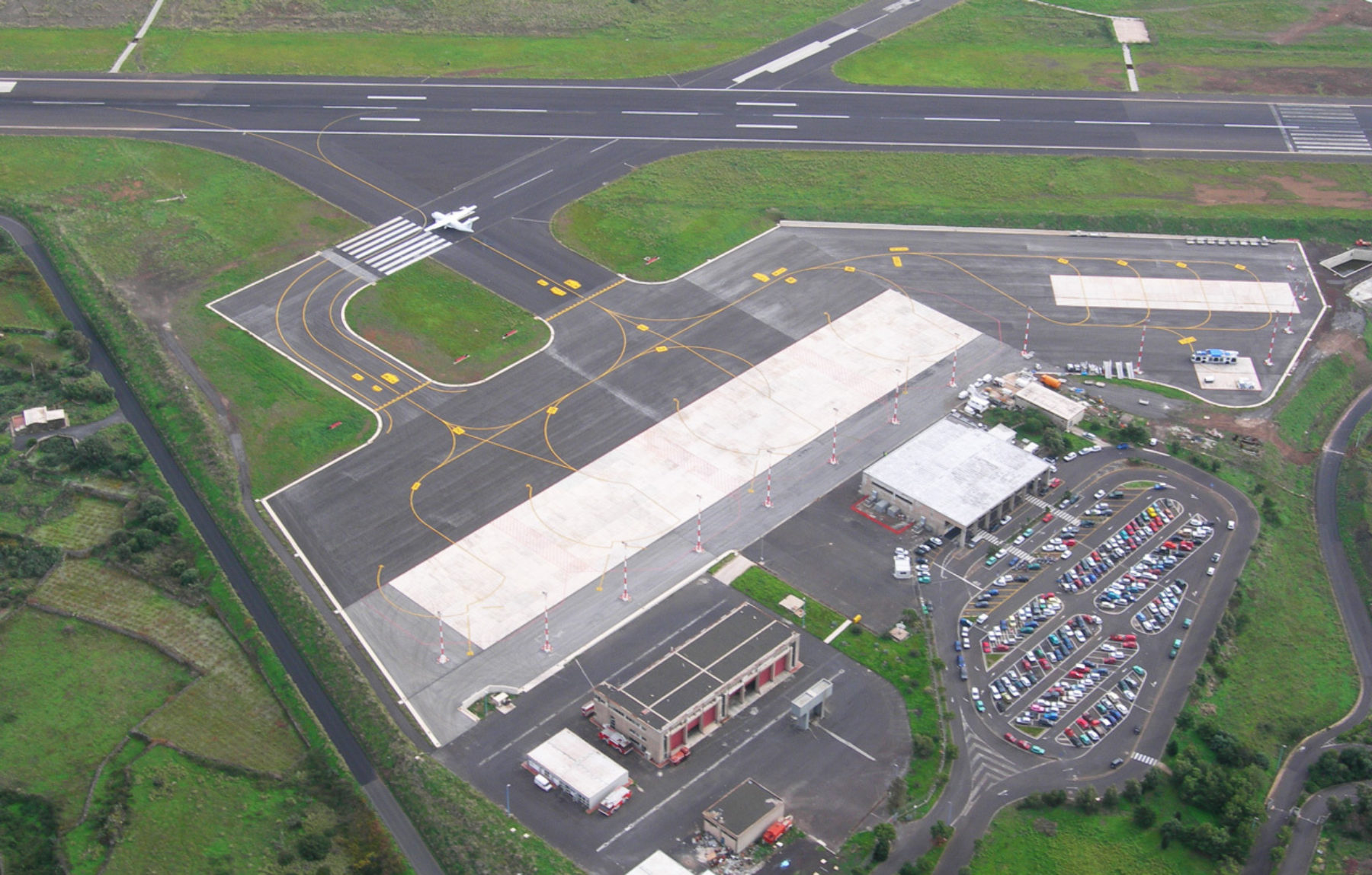 Pantelleria Airport (PNL): Apron and Runway Extension