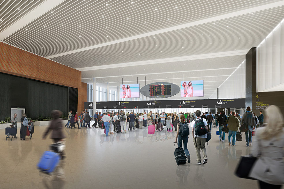 Venice Airport Passenger Terminal North Extension (lot 2A) Announced
