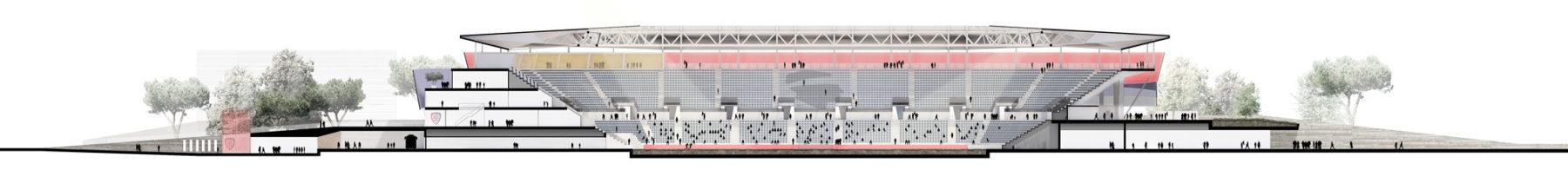 Sant'Elia Cagliari Calcio Football Stadium