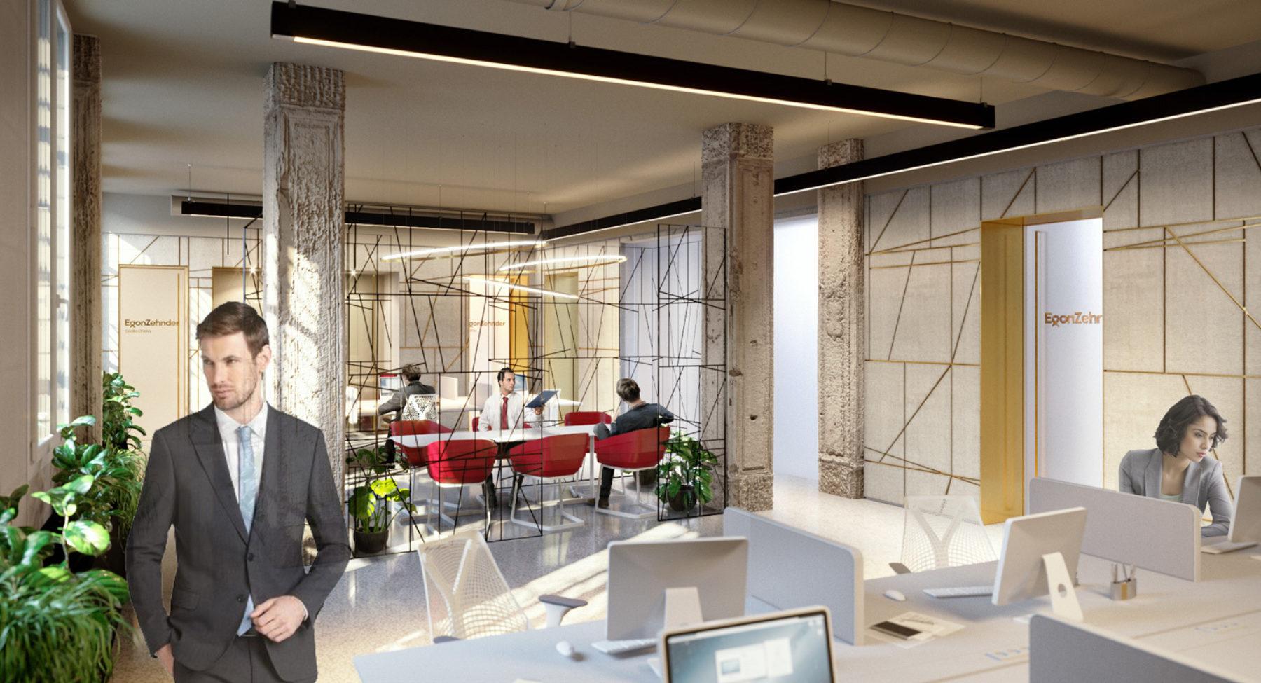 Egon Zehnder Office fit-out