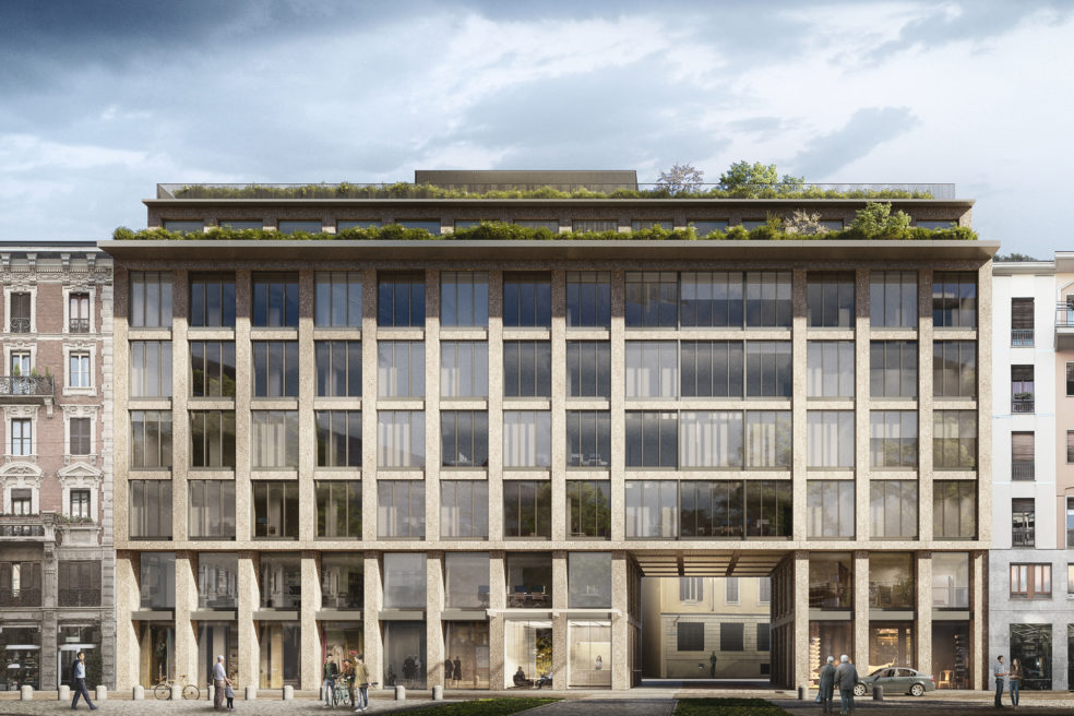 Work in Progress at Milan's new Urban Office Campus