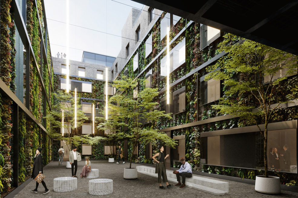 Green Courtyard Office Refurbishment