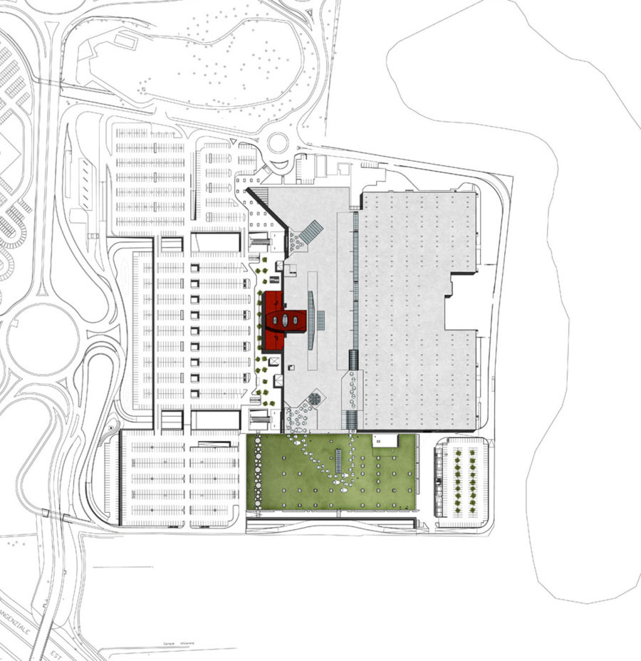 Carosello Commercial Center: Refurbishment and Extension