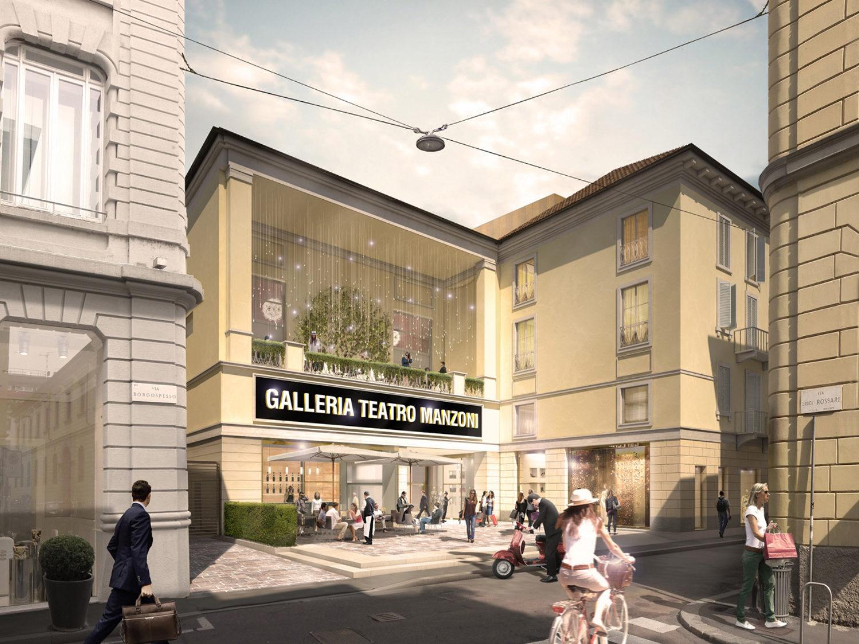 The Galleria Manzoni Shopping Arcade