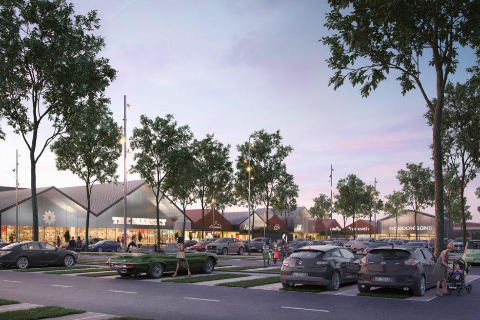 Designs for Sestu Retail Park unveiled