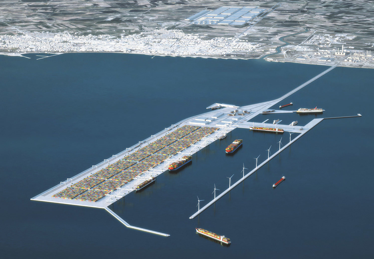 Gela Container Terminal Logistic System Feasibility