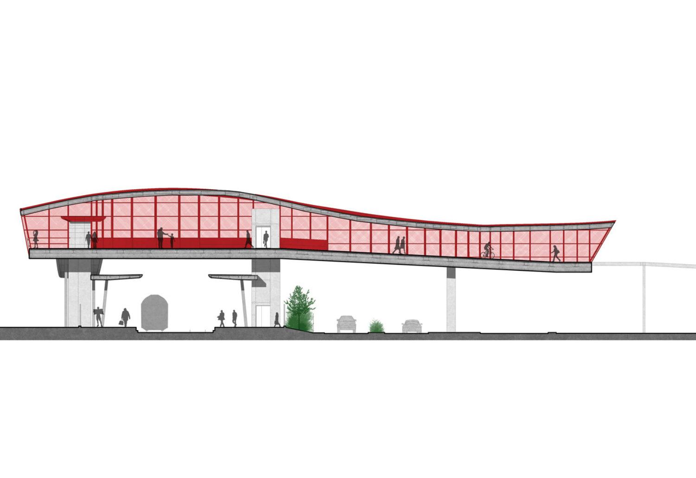 Grugliasco Pedestrian Bridge