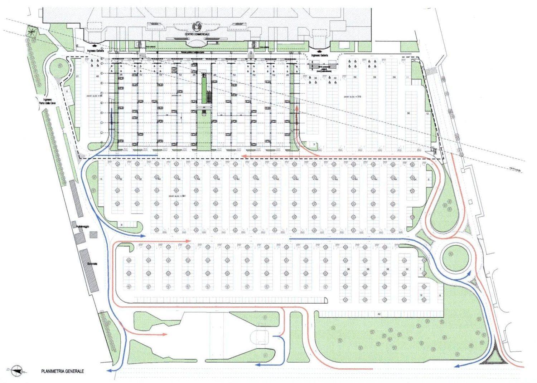 Paderno Dugnano Commercial Mall Car Park