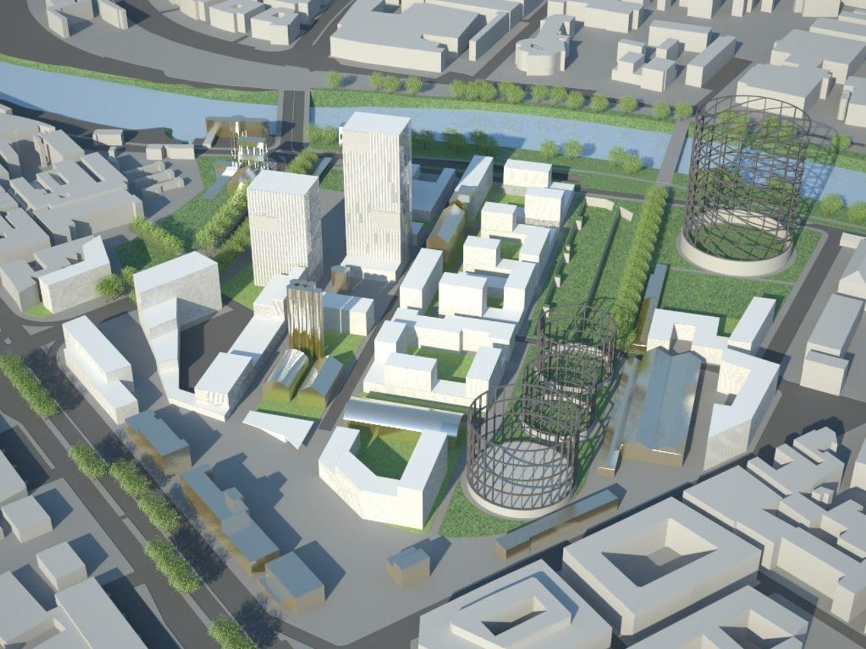 Ostiense Redevelopement Masterplan