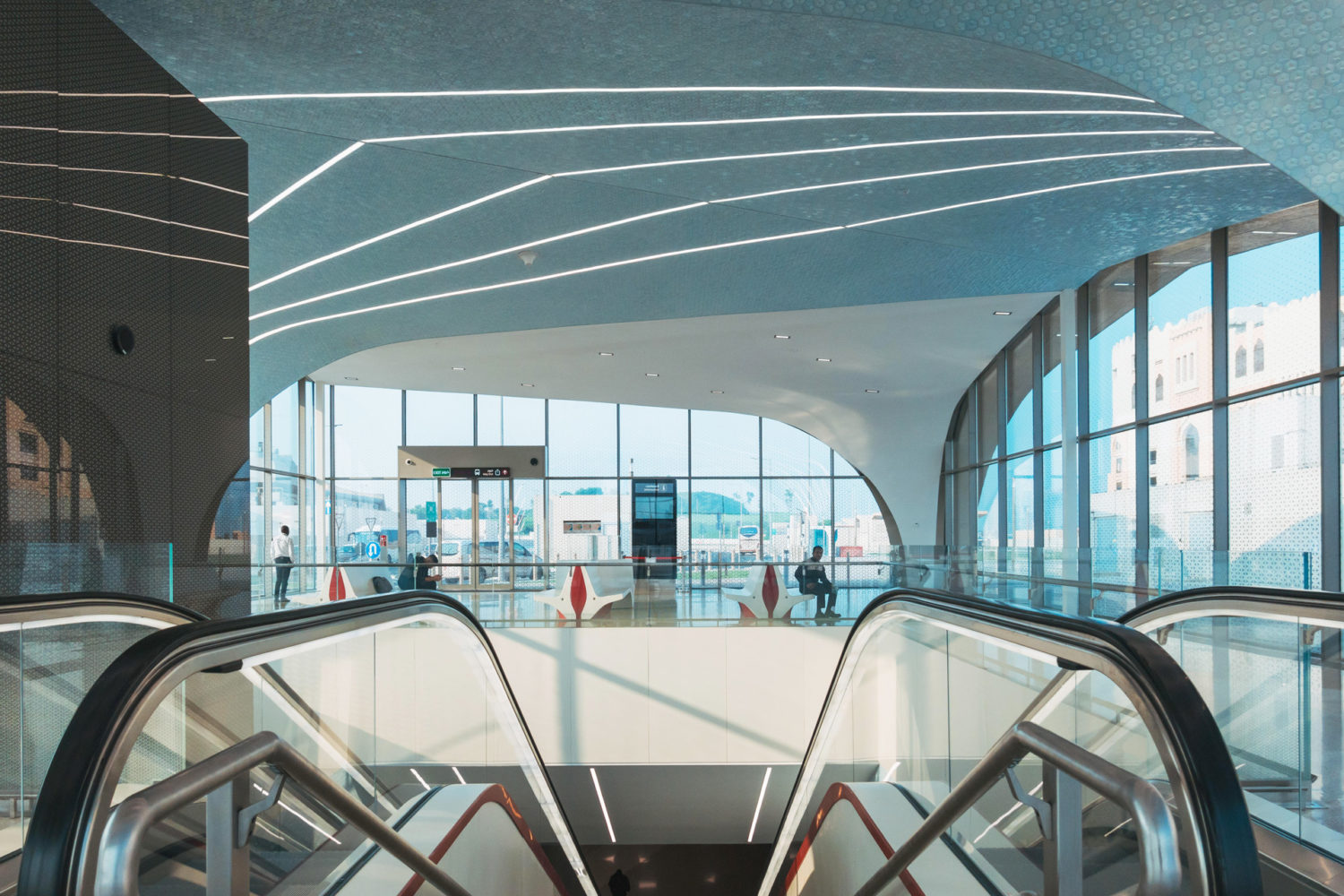 Doha Red Line North Metro Stations
