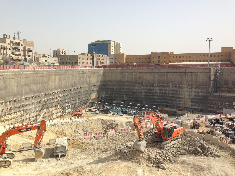 Riyadh Metro: Downtown Station